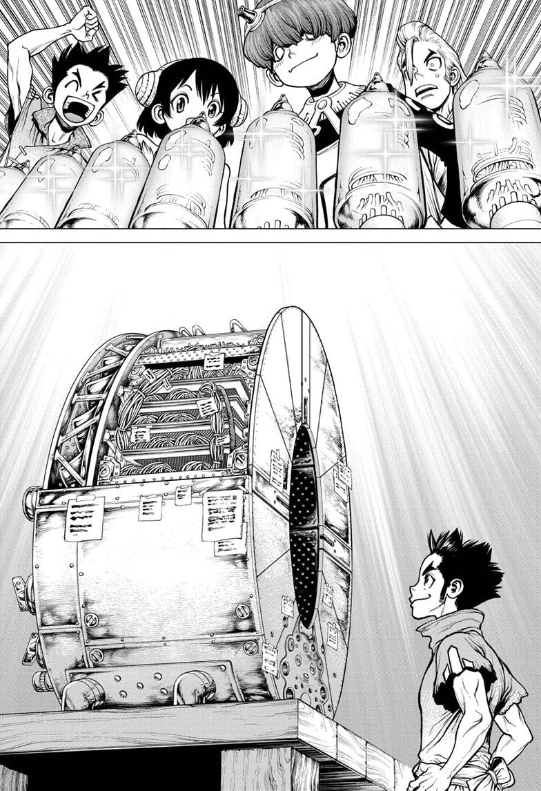 Dr. Stone Chapter 208 Page 11