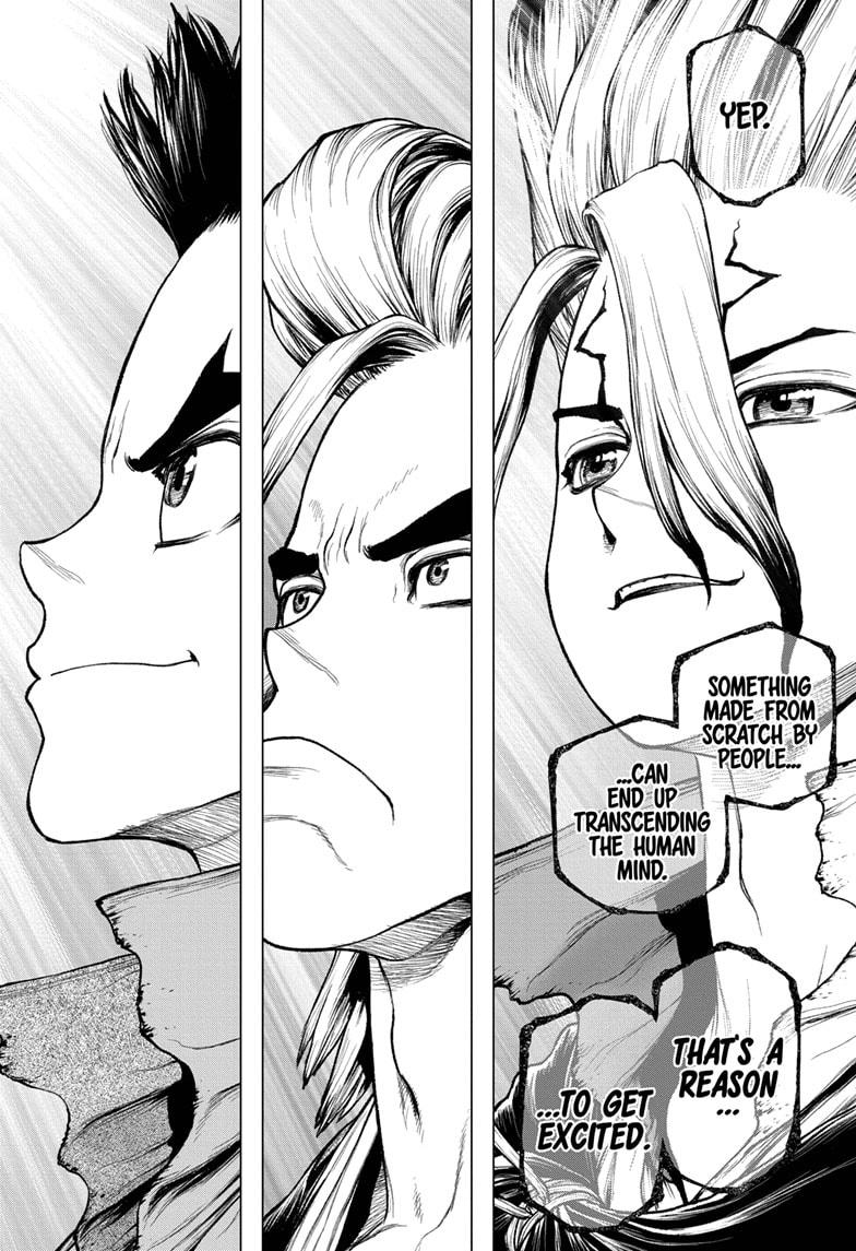 Dr. Stone Chapter 208 Page 16