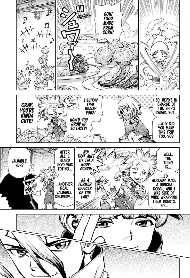 Dr. Stone Chapter 209 Page 10