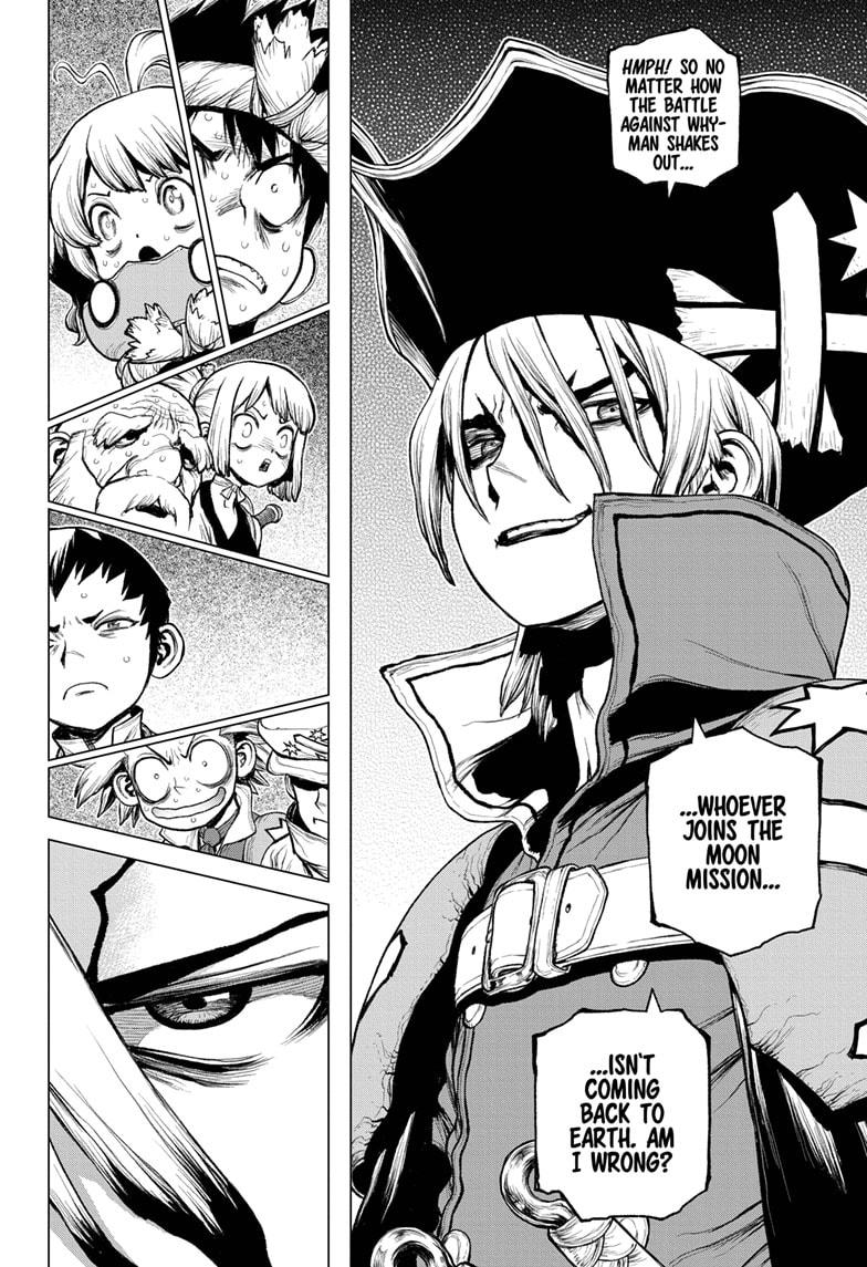 Dr. Stone Chapter 209 Page 15