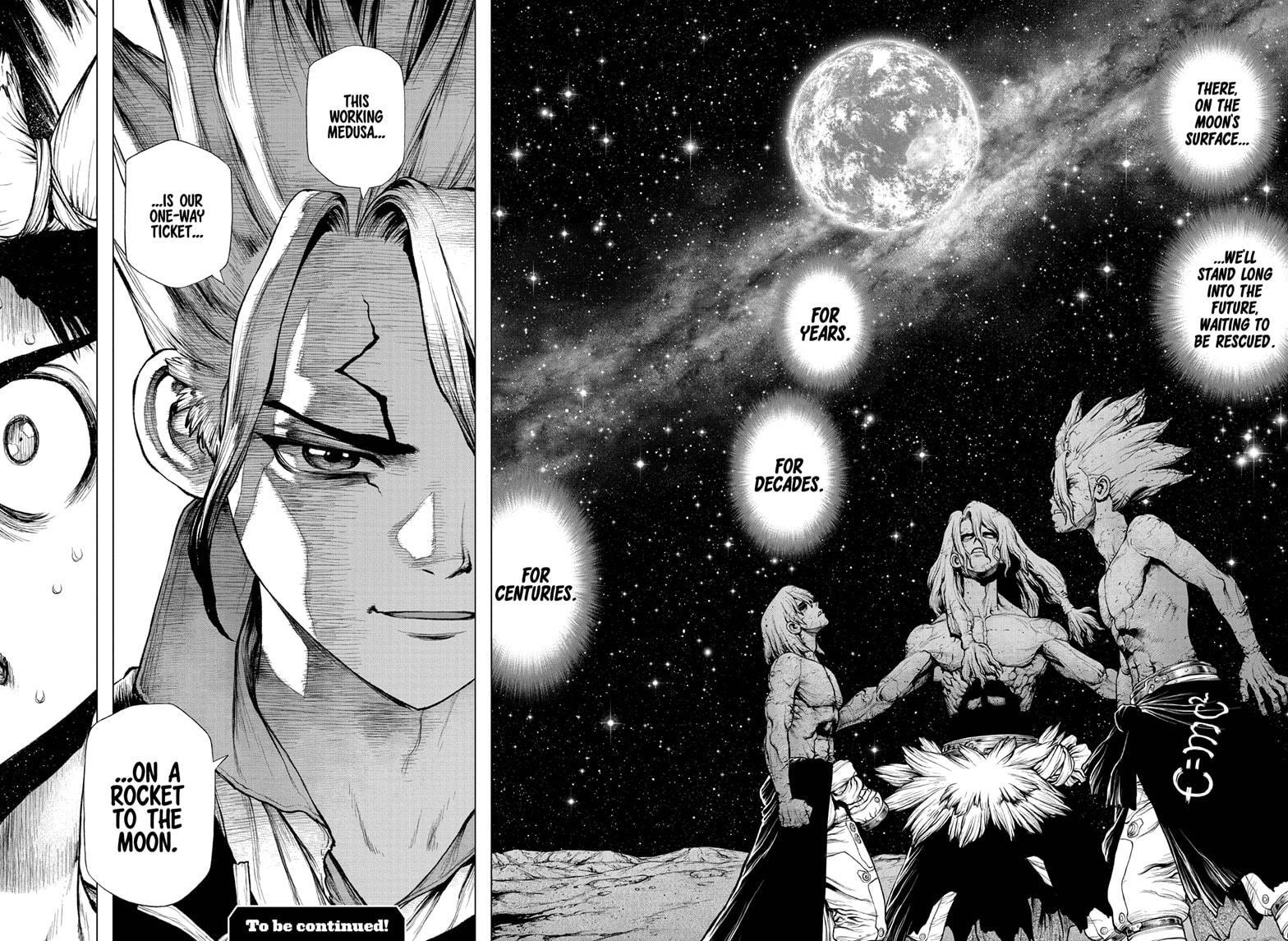 Dr. Stone Chapter 209 Page 17