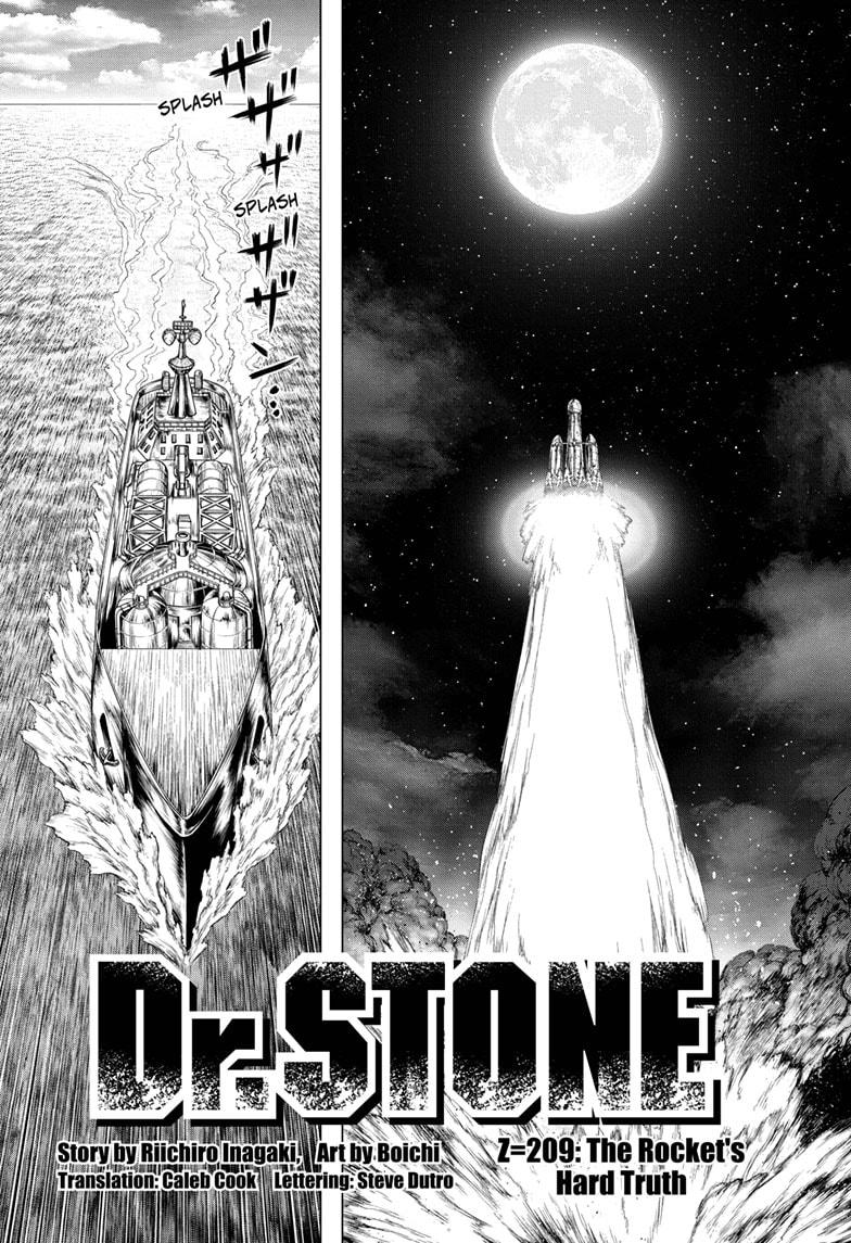 Dr. Stone Chapter 209 Page 2