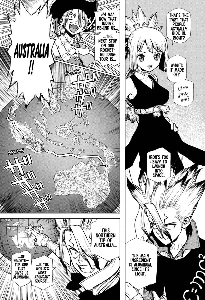 Dr. Stone Chapter 209 Page 3