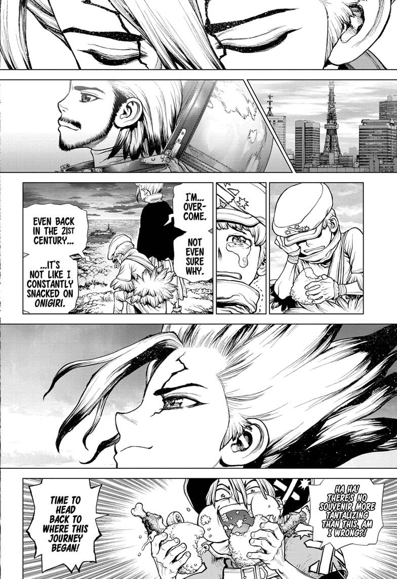 Dr. Stone Chapter 211 Page 14