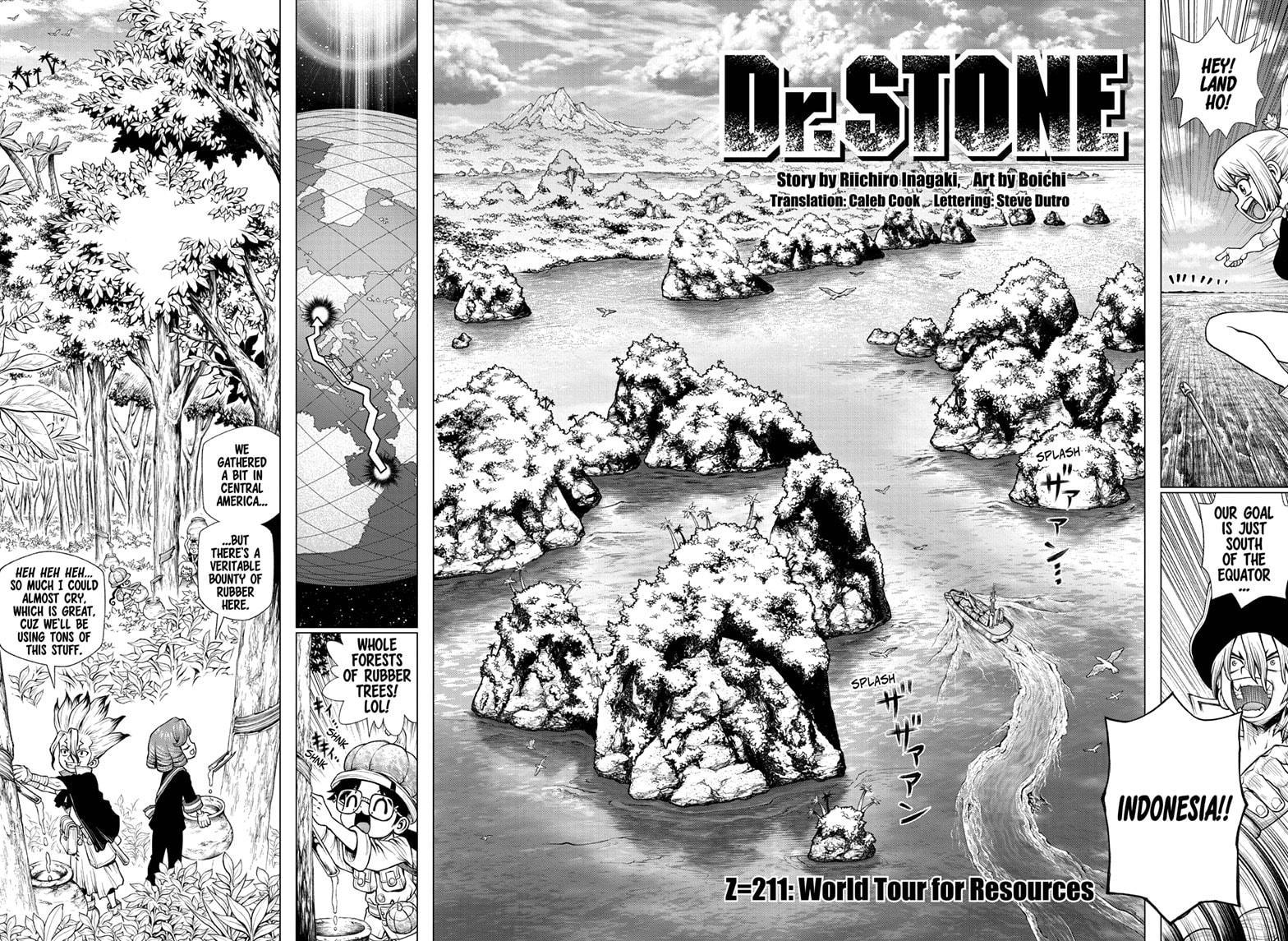 Dr. Stone Chapter 211 Page 2