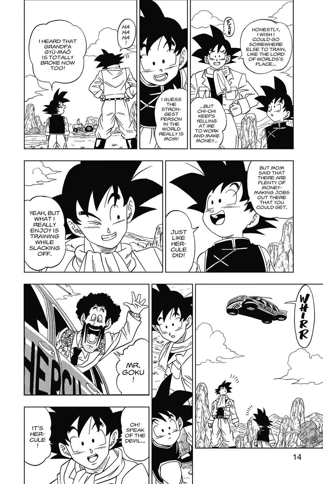 Dragon Ball Super Chapter 1 Page 14