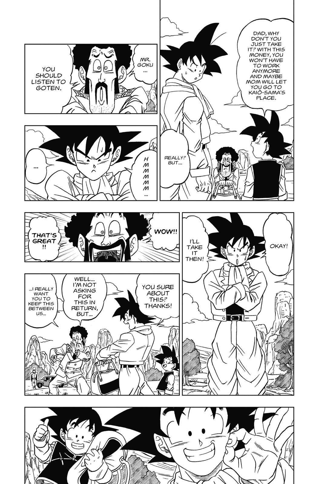 Dragon Ball Super Chapter 1 Page 20