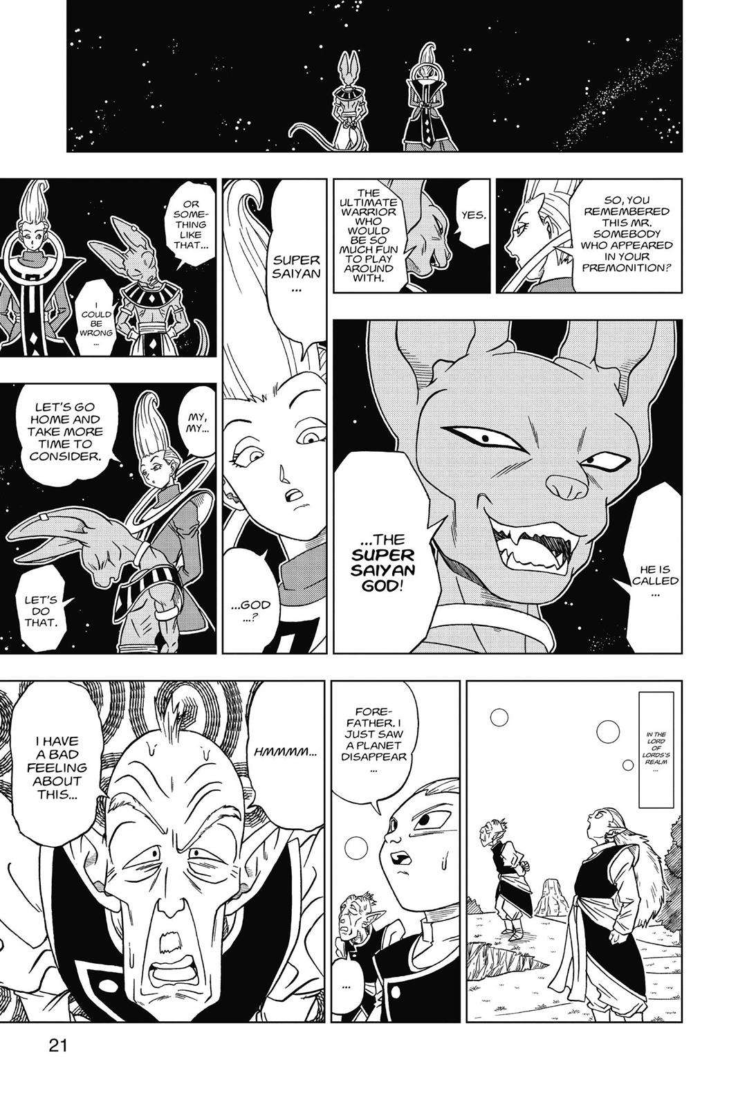 Dragon Ball Super Chapter 1 Page 21