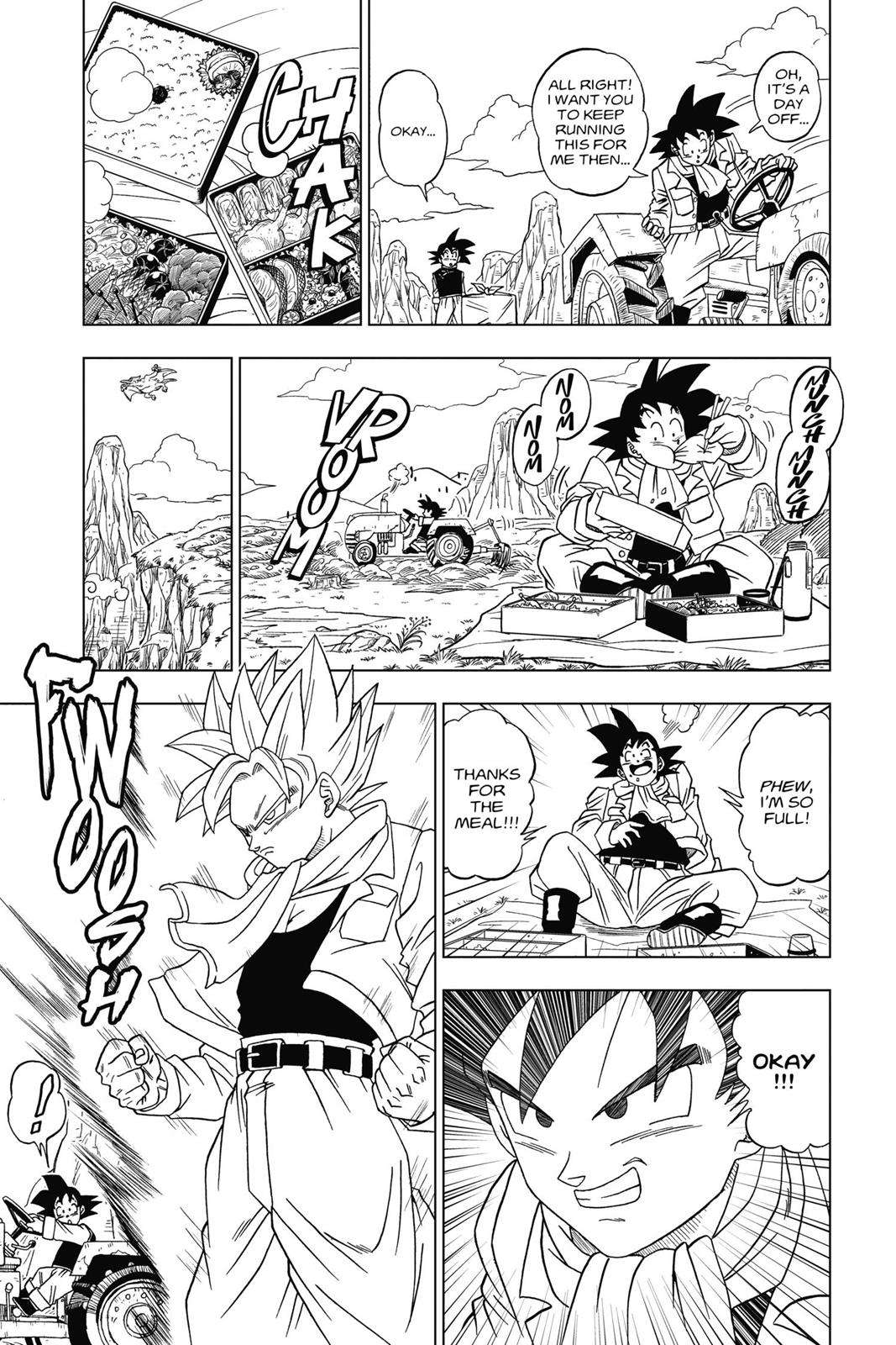 Dragon Ball Super Chapter 1 Page 9