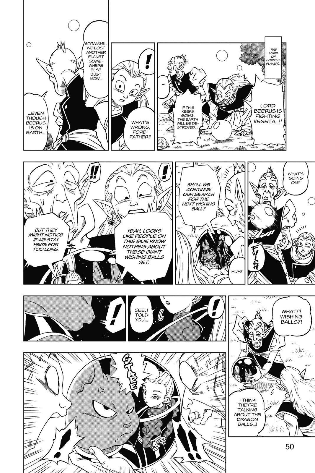 Dragon Ball Super Chapter 3 Page 12