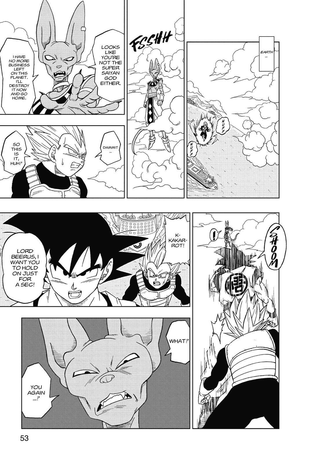 Dragon Ball Super Chapter 3 Page 15