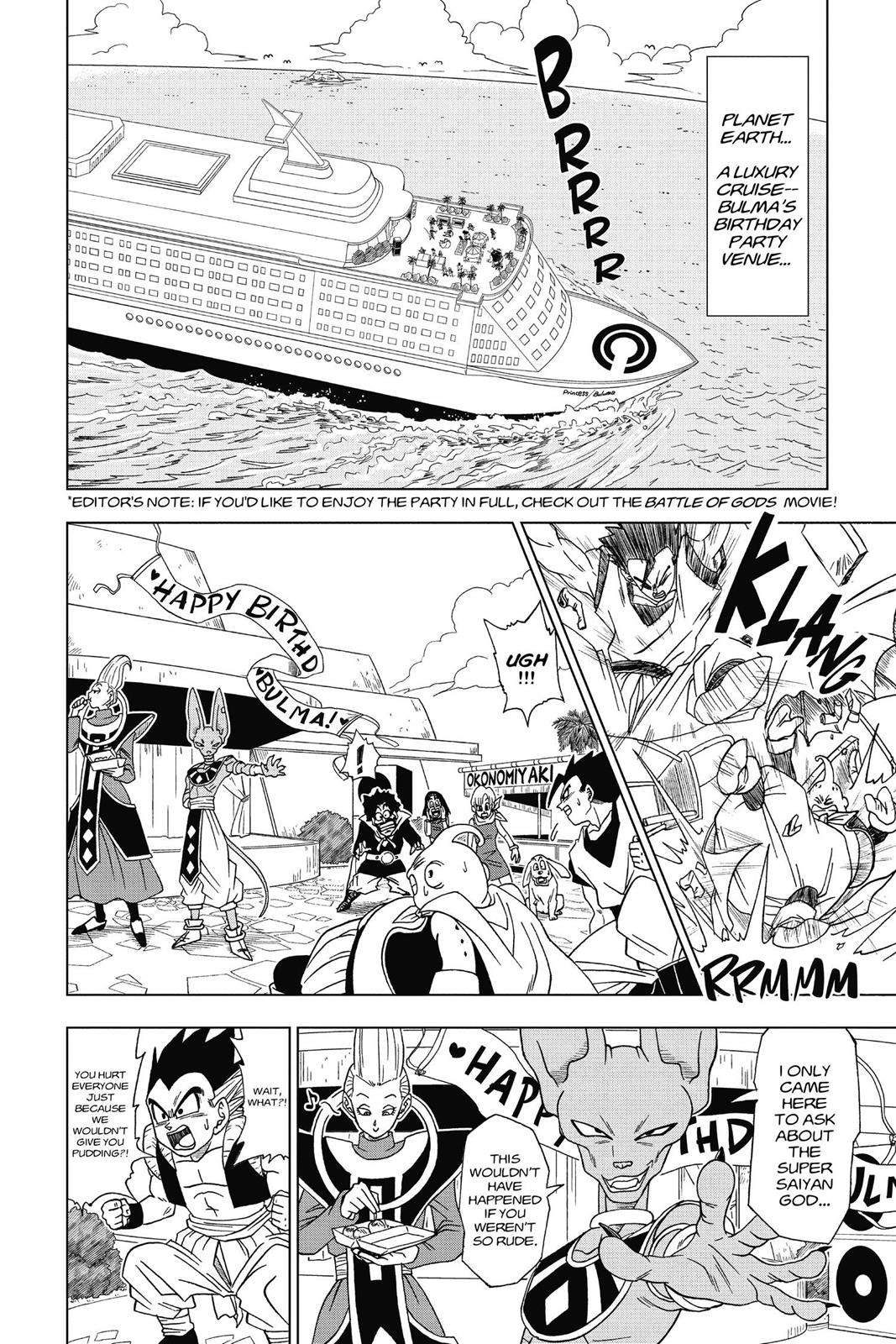 Dragon Ball Super Chapter 3 Page 2