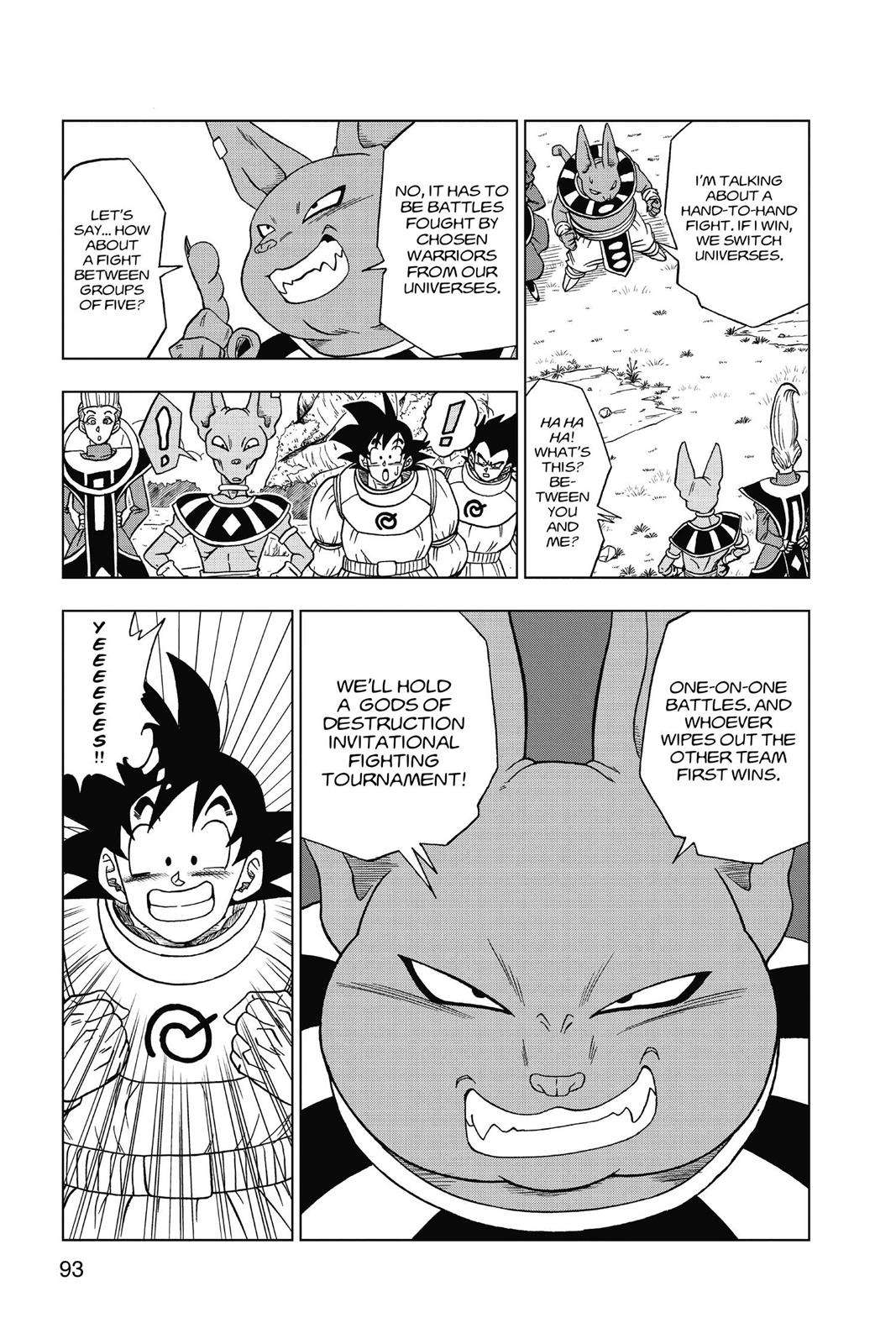 Dragon Ball Super Chapter 5 Page 20