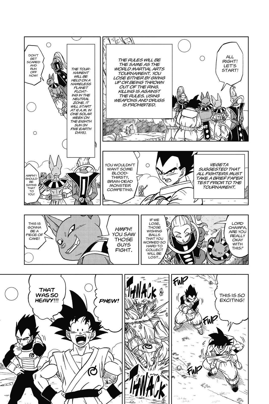 Dragon Ball Super Chapter 6 Page 11