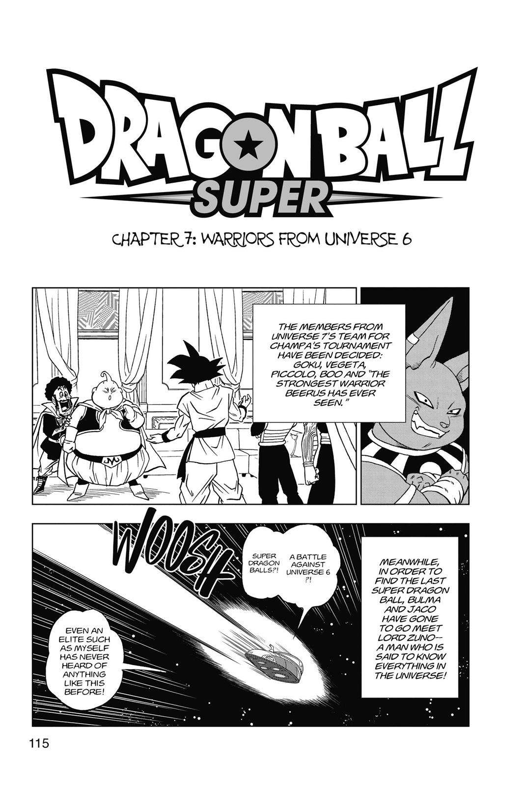 Dragon Ball Super Chapter 7 Page 1