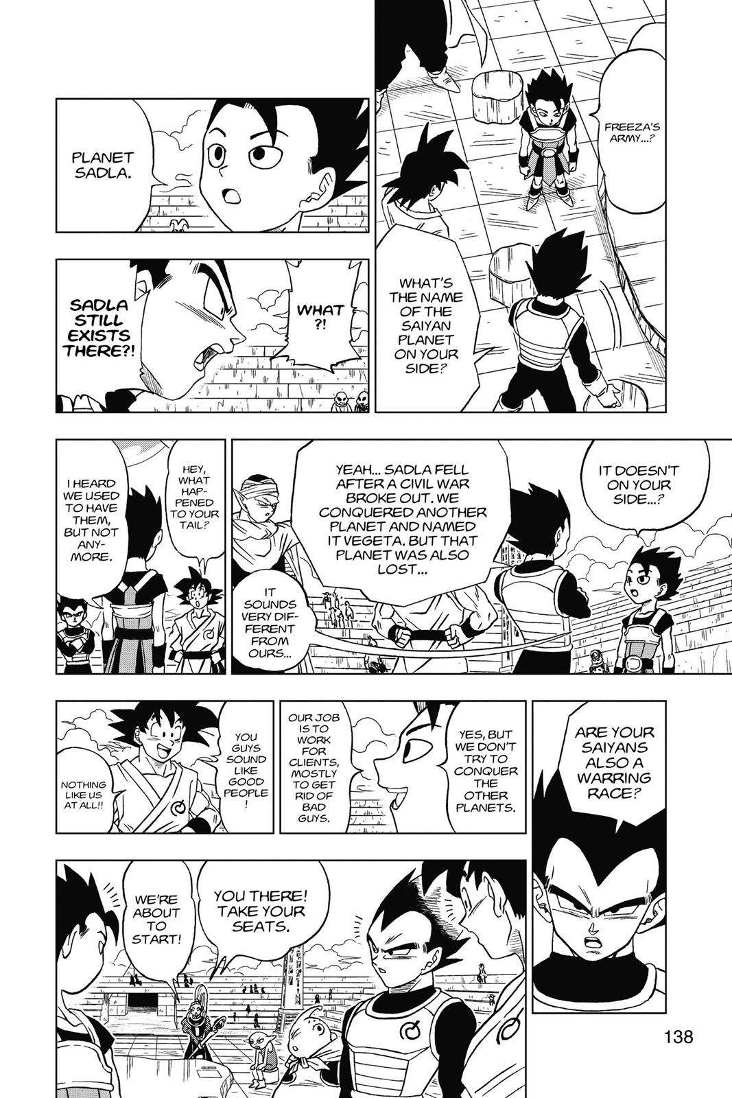 Dragon Ball Super Chapter 8 Page 4
