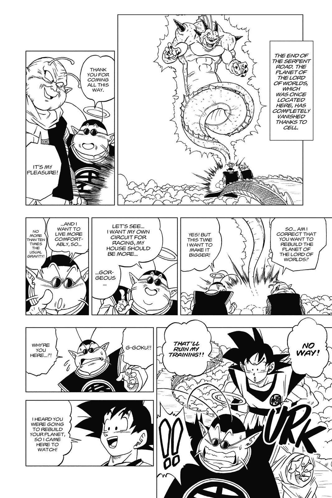 Dragon Ball Super Chapter 9 Page 34