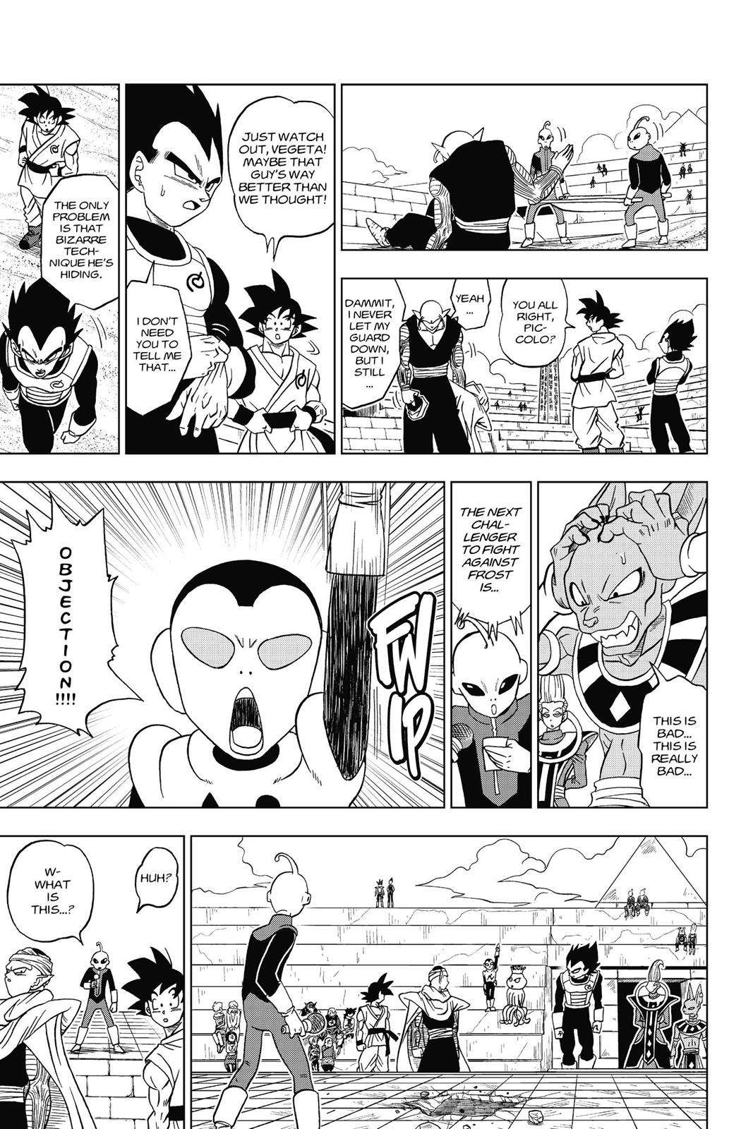 Dragon Ball Super Chapter 10 Page 34