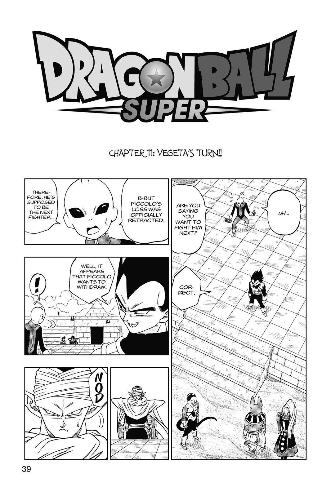 Dragon Ball Super Chapter 11 Page 1