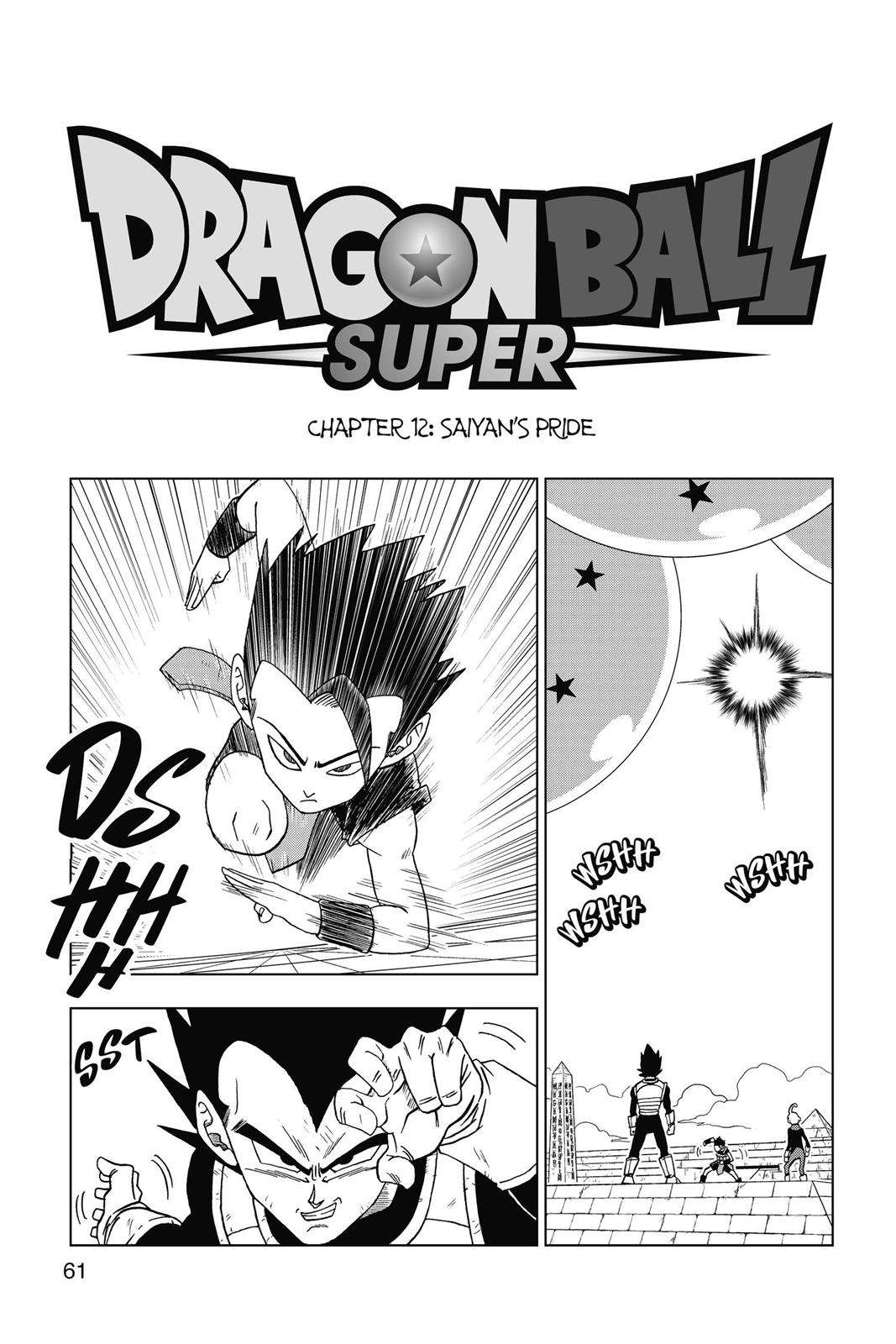 Dragon Ball Super Chapter 12 Page 1