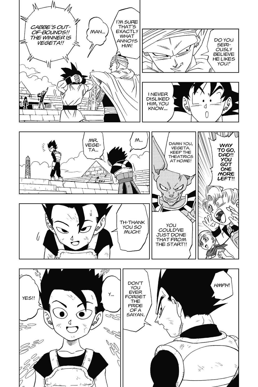 Dragon Ball Super Chapter 12 Page 16