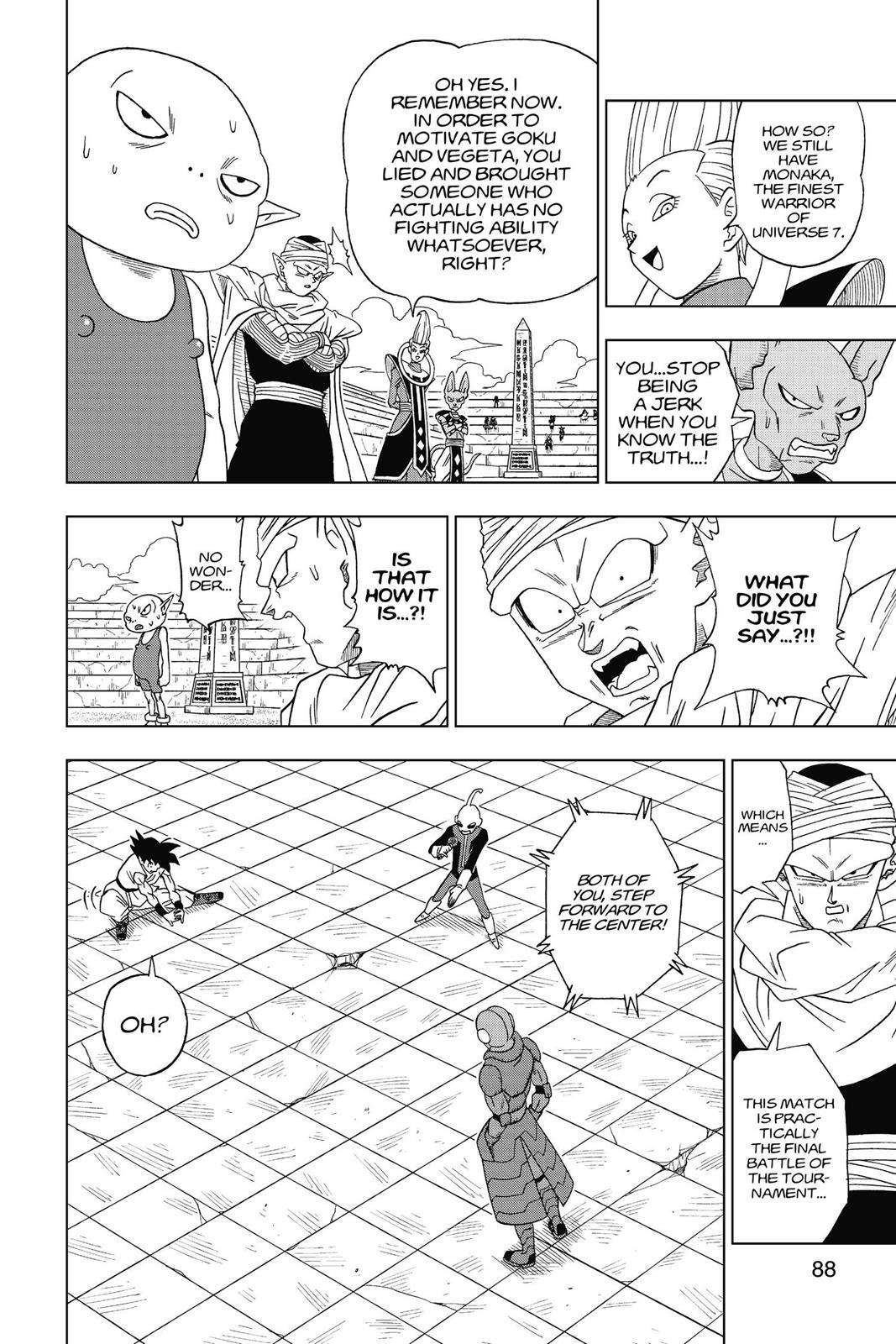 Dragon Ball Super Chapter 12 Page 28