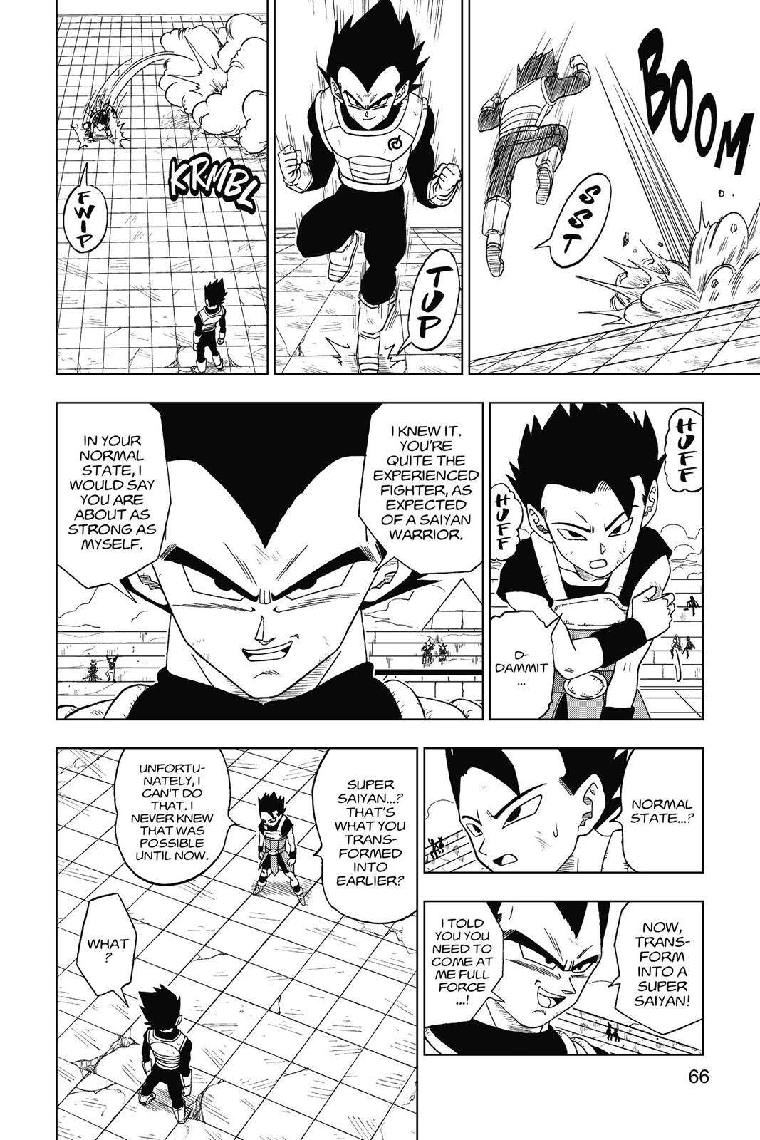 Dragon Ball Super Chapter 12 Page 6