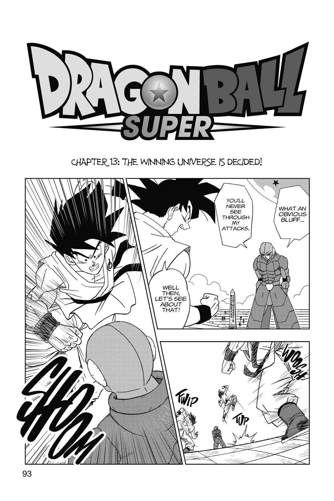 Dragon Ball Super Chapter 13 Page 1