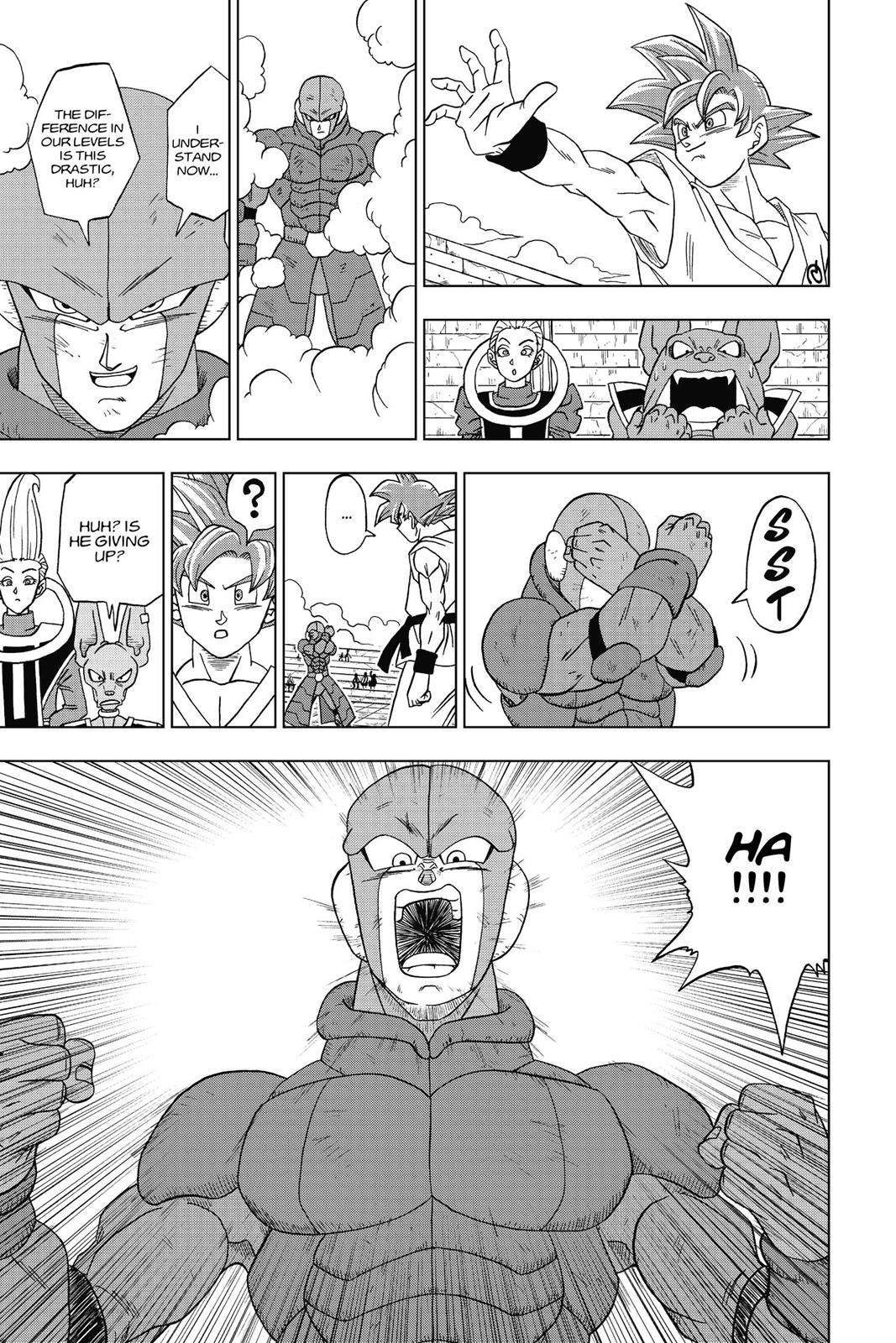 Dragon Ball Super Chapter 13 Page 19
