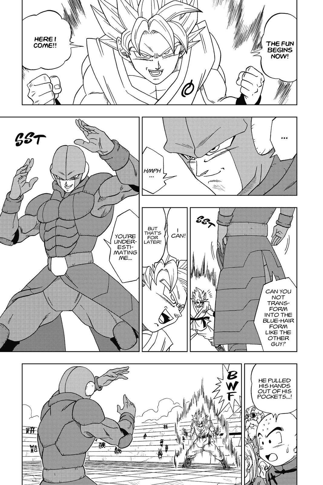 Dragon Ball Super Chapter 13 Page 7