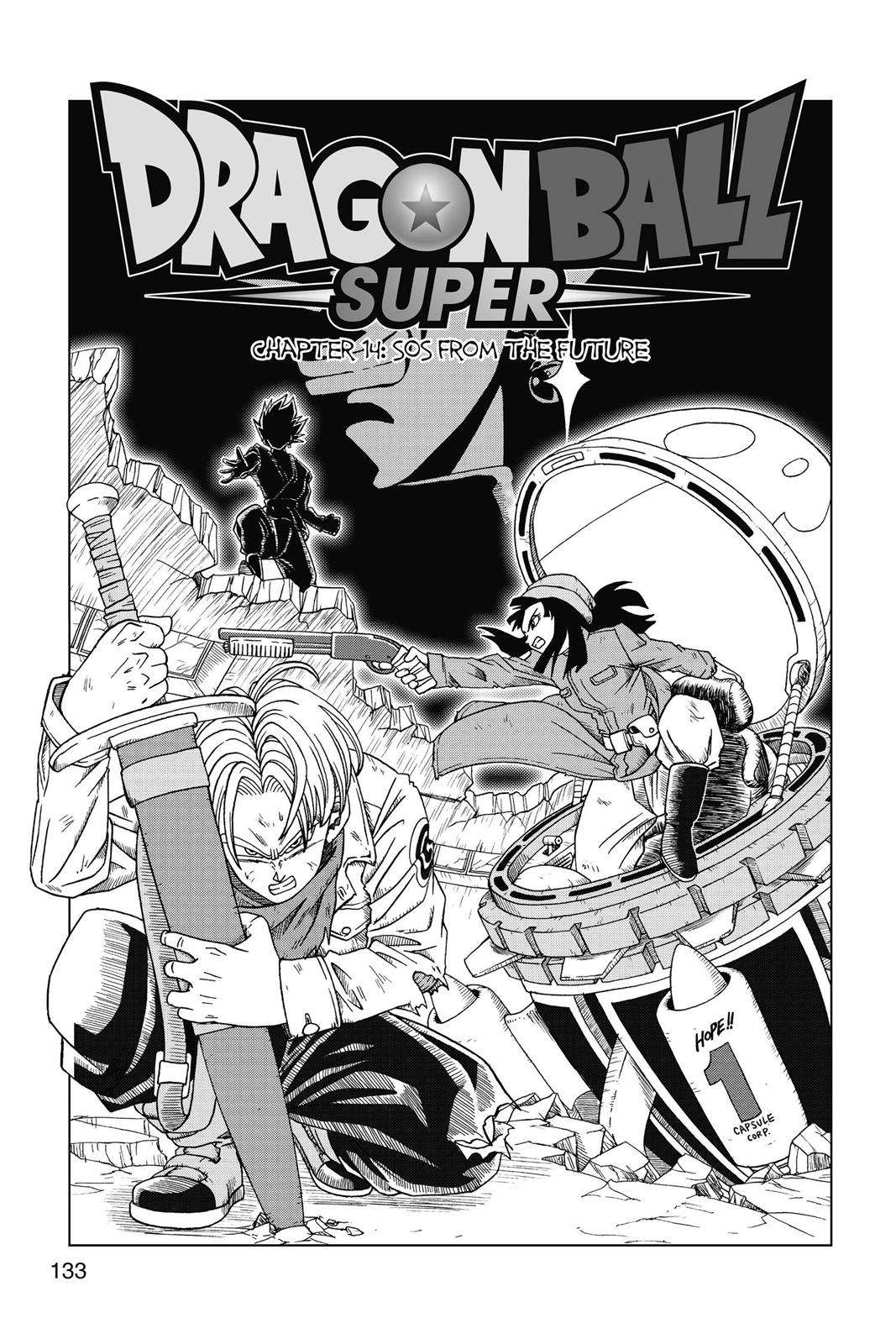 Dragon Ball Super Chapter 14 Page 1