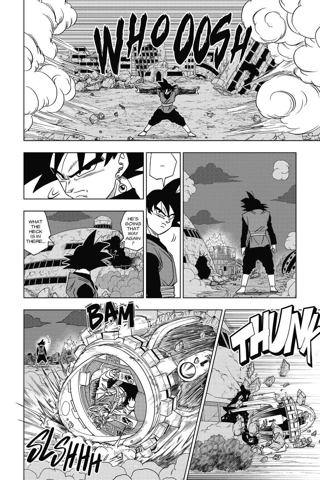 Dragon Ball Super Chapter 15 Page 12