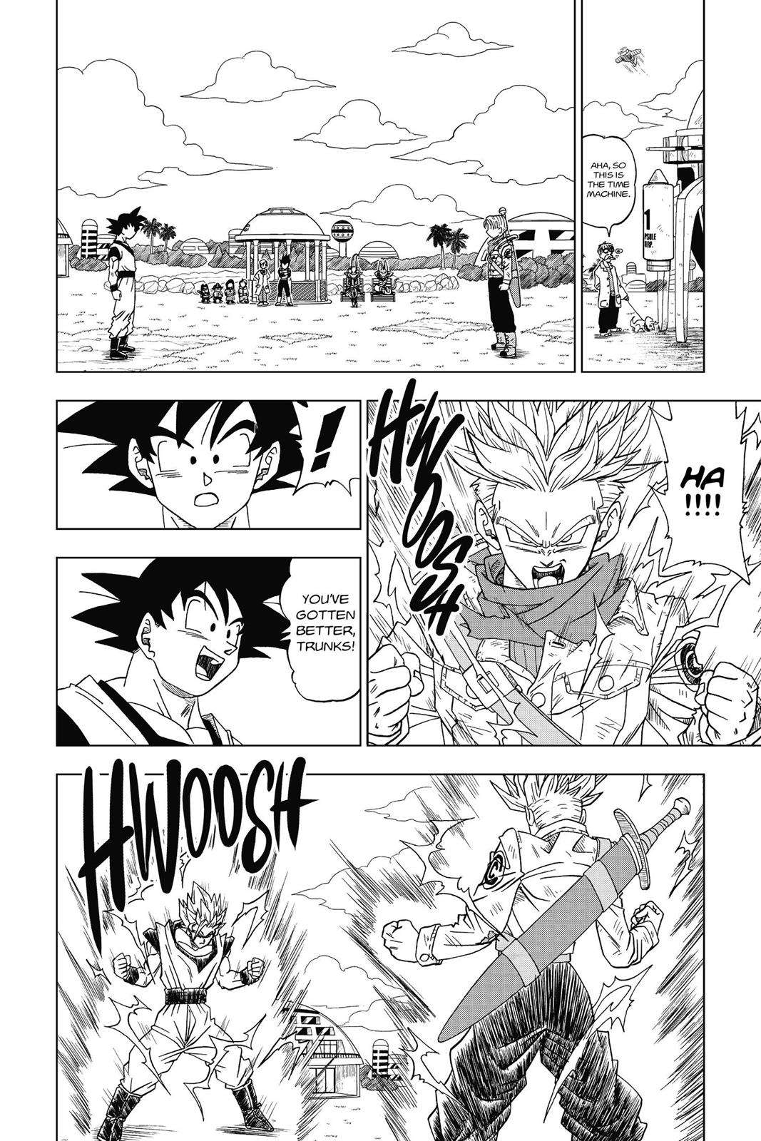 Dragon Ball Super Chapter 15 Page 30