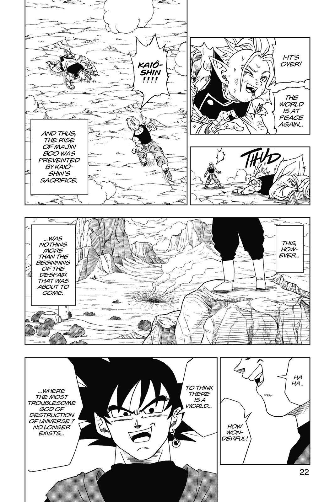 Dragon Ball Super Chapter 16 Page 23