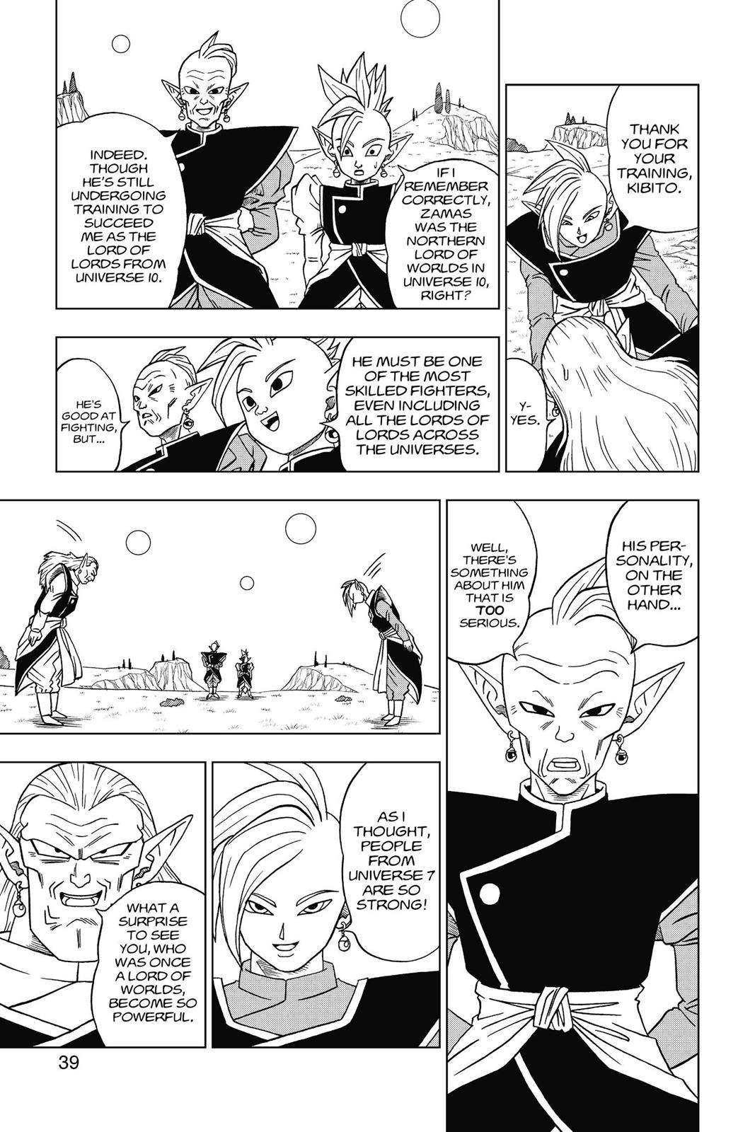 Dragon Ball Super Chapter 16 Page 40