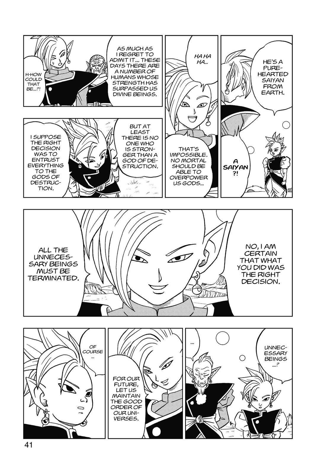 Dragon Ball Super Chapter 16 Page 42
