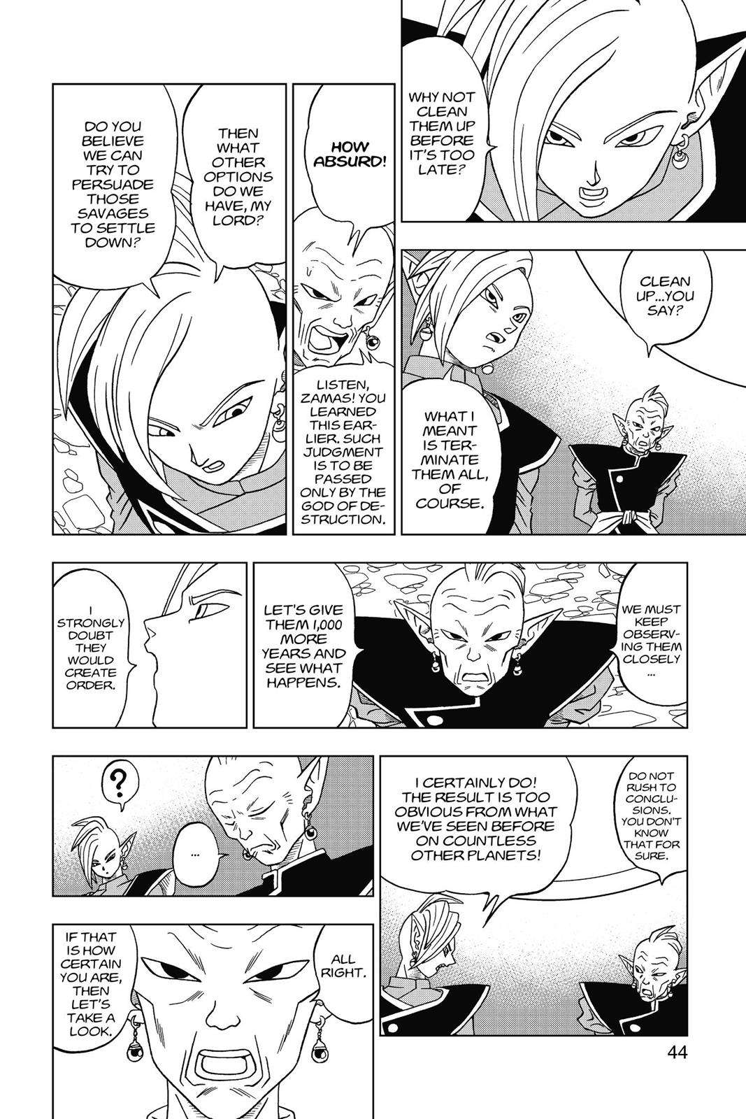 Dragon Ball Super Chapter 16 Page 45