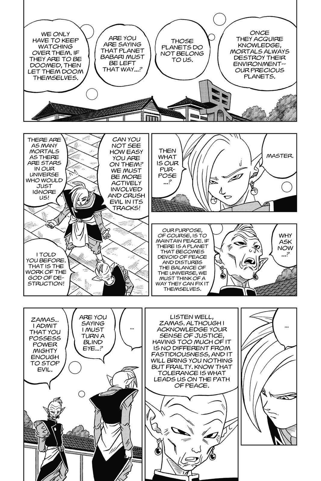 Dragon Ball Super Chapter 17 Page 17