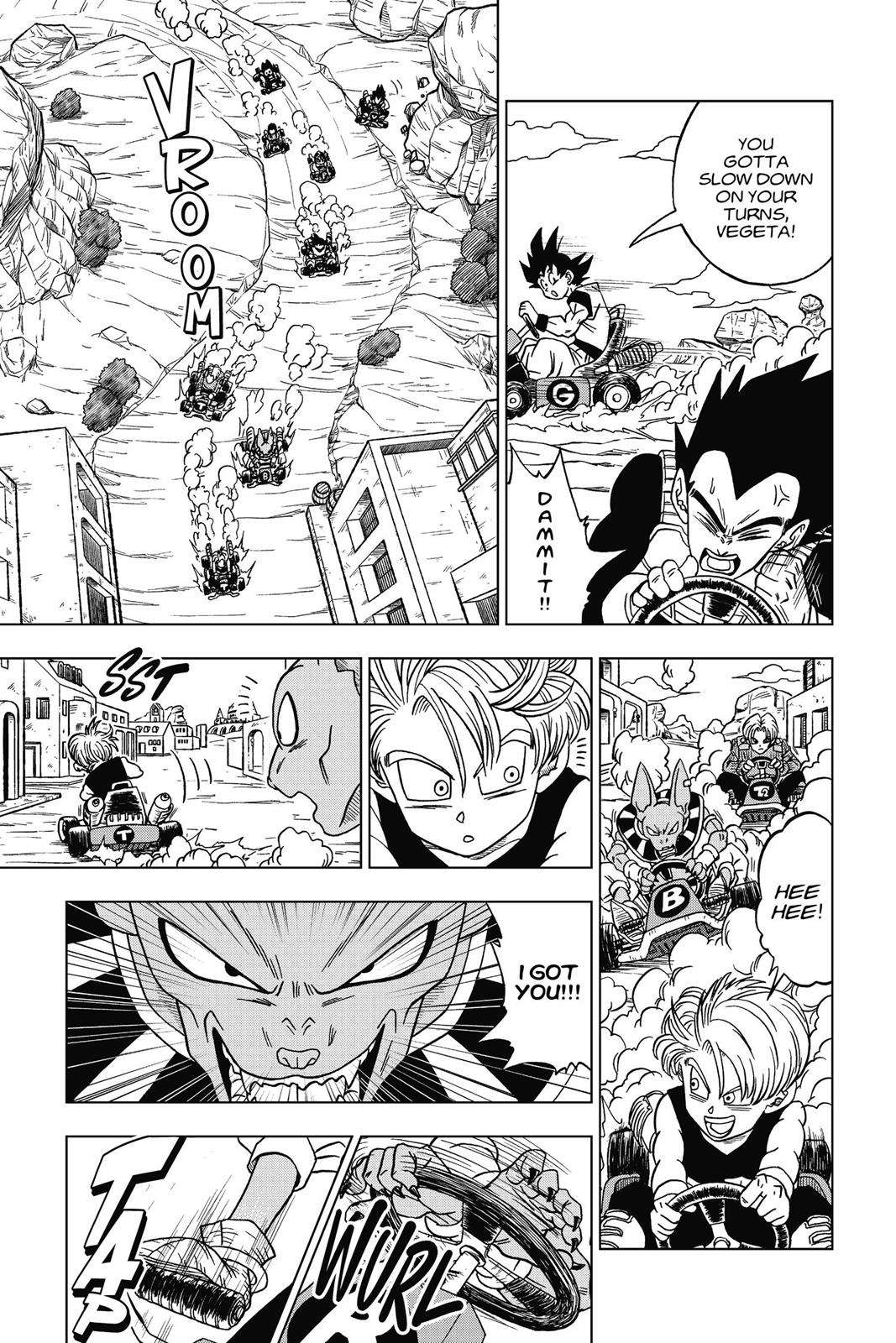 Dragon Ball Super Chapter 17 Page 21