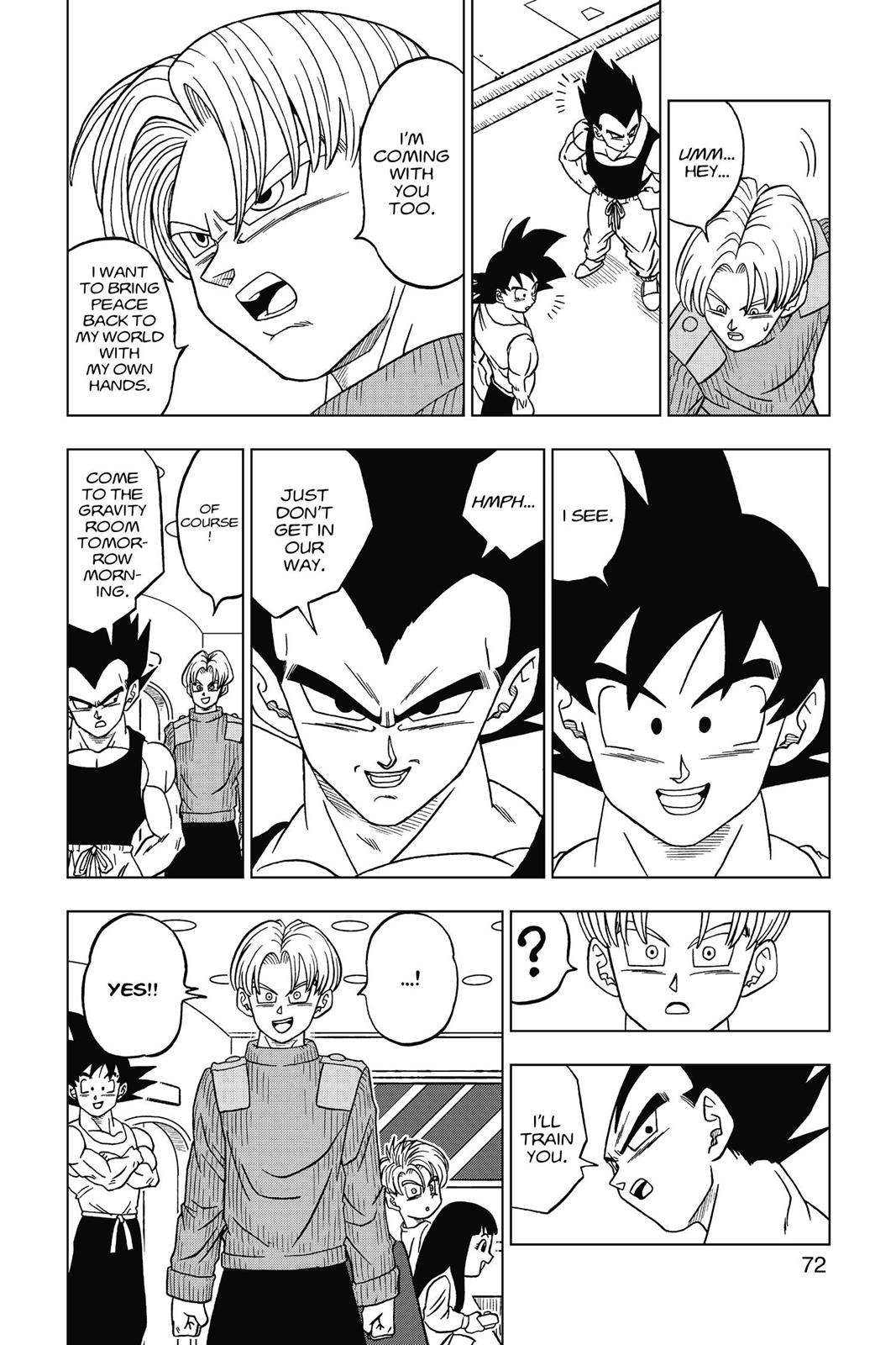 Dragon Ball Super Chapter 17 Page 26