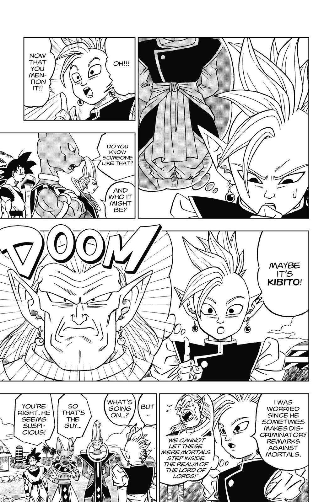 Dragon Ball Super Chapter 17 Page 33