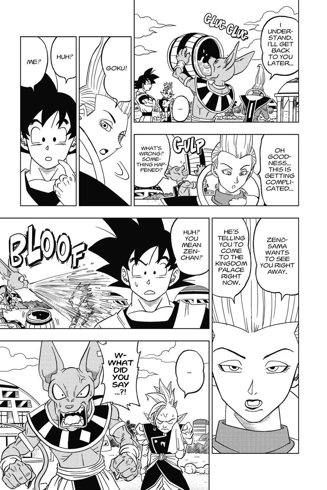 Dragon Ball Super Chapter 17 Page 35