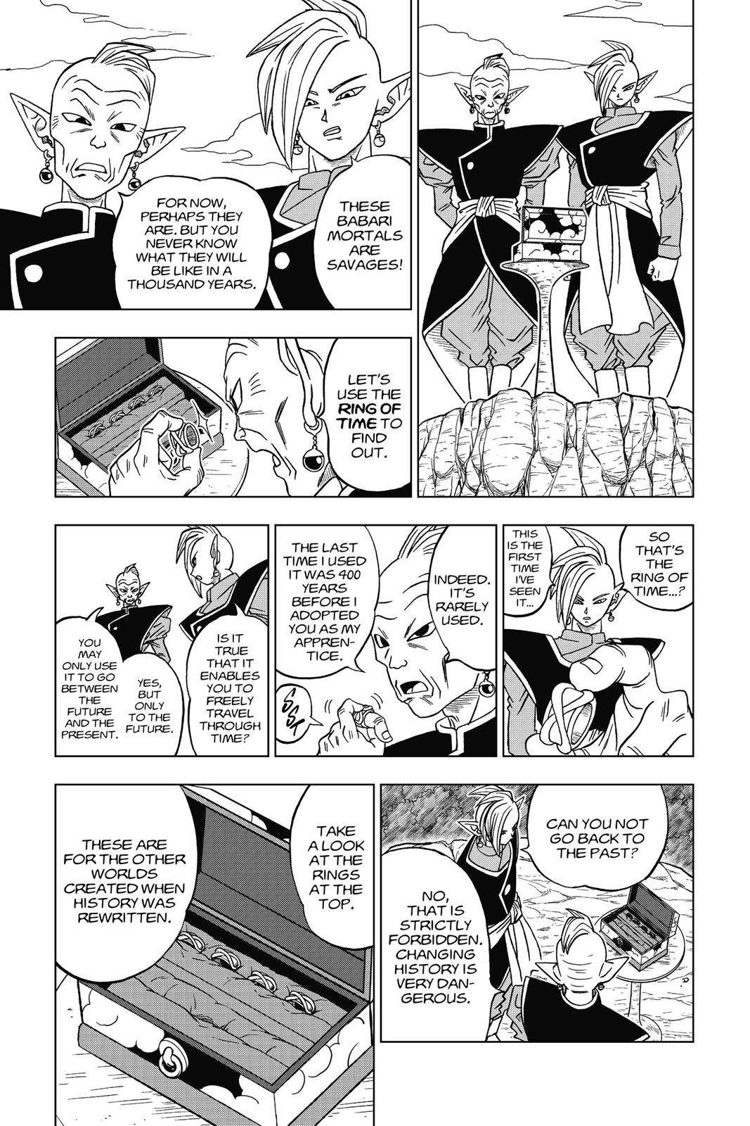 Dragon Ball Super Chapter 17 Page 5