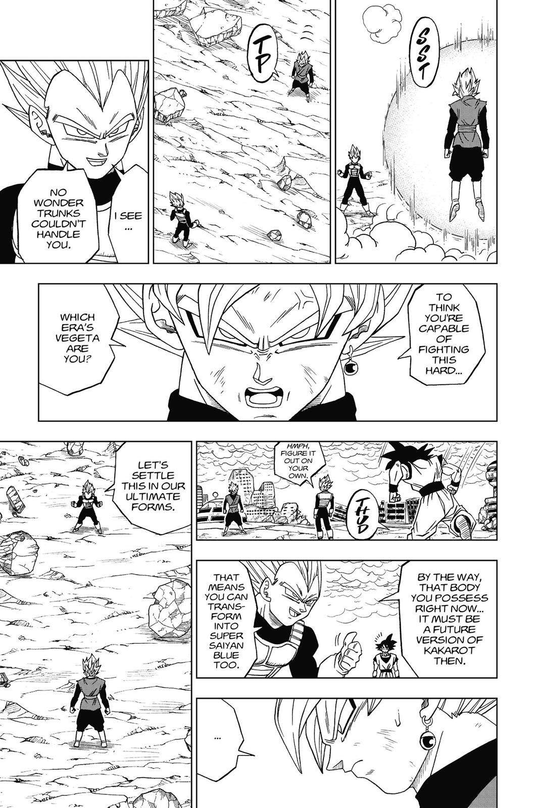 Dragon Ball Super Chapter 19 Page 13