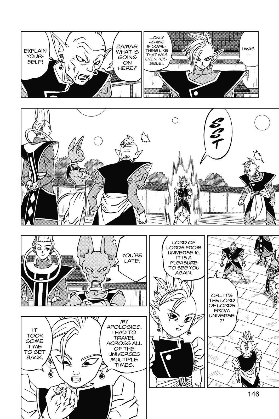 Dragon Ball Super Chapter 19 Page 20