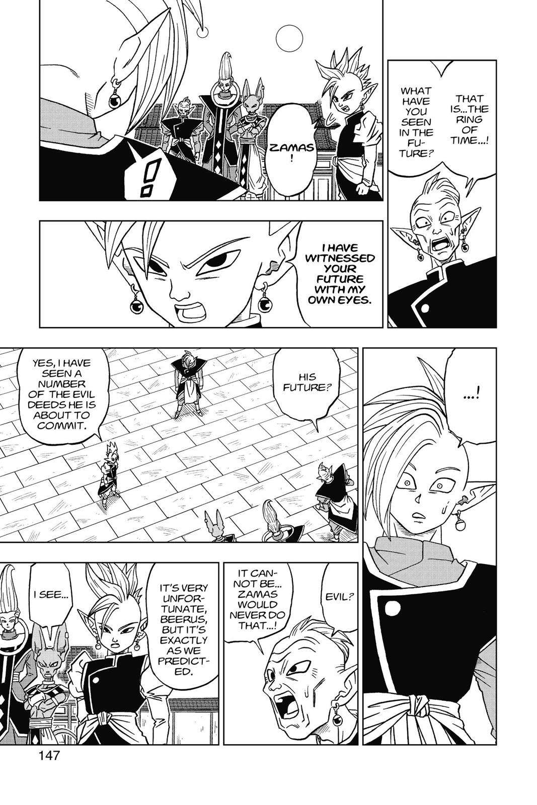 Dragon Ball Super Chapter 19 Page 21