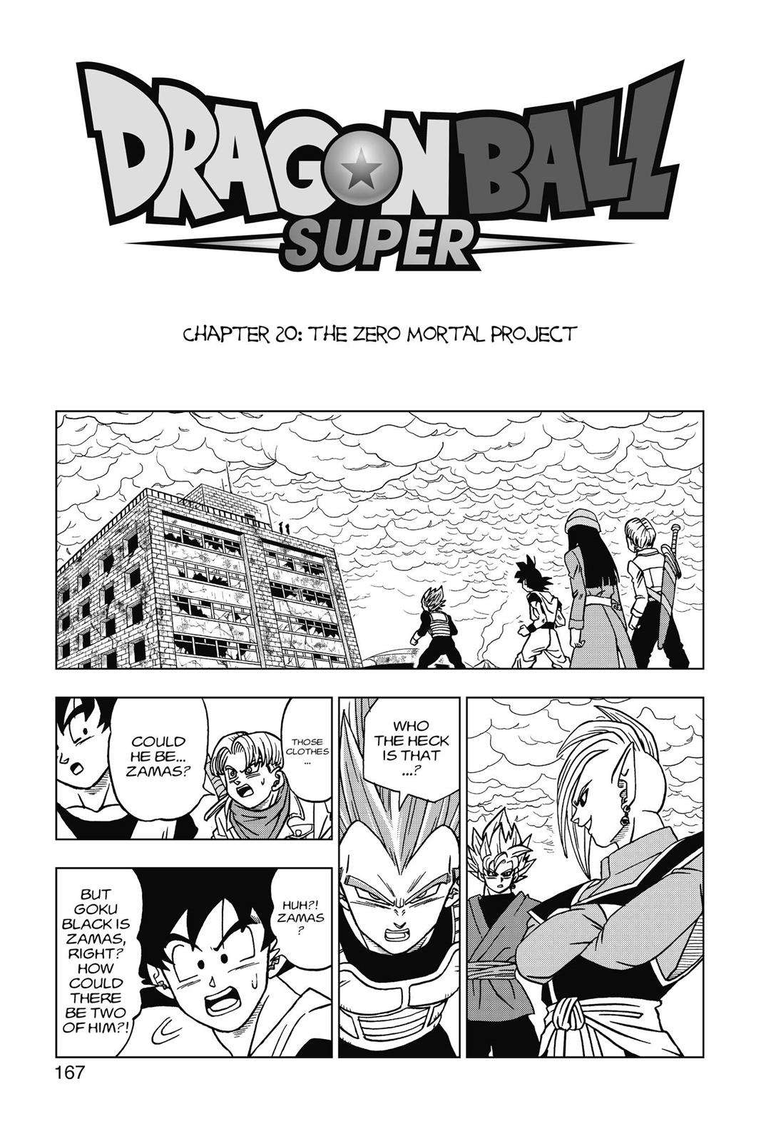 Dragon Ball Super Chapter 20 Page 1
