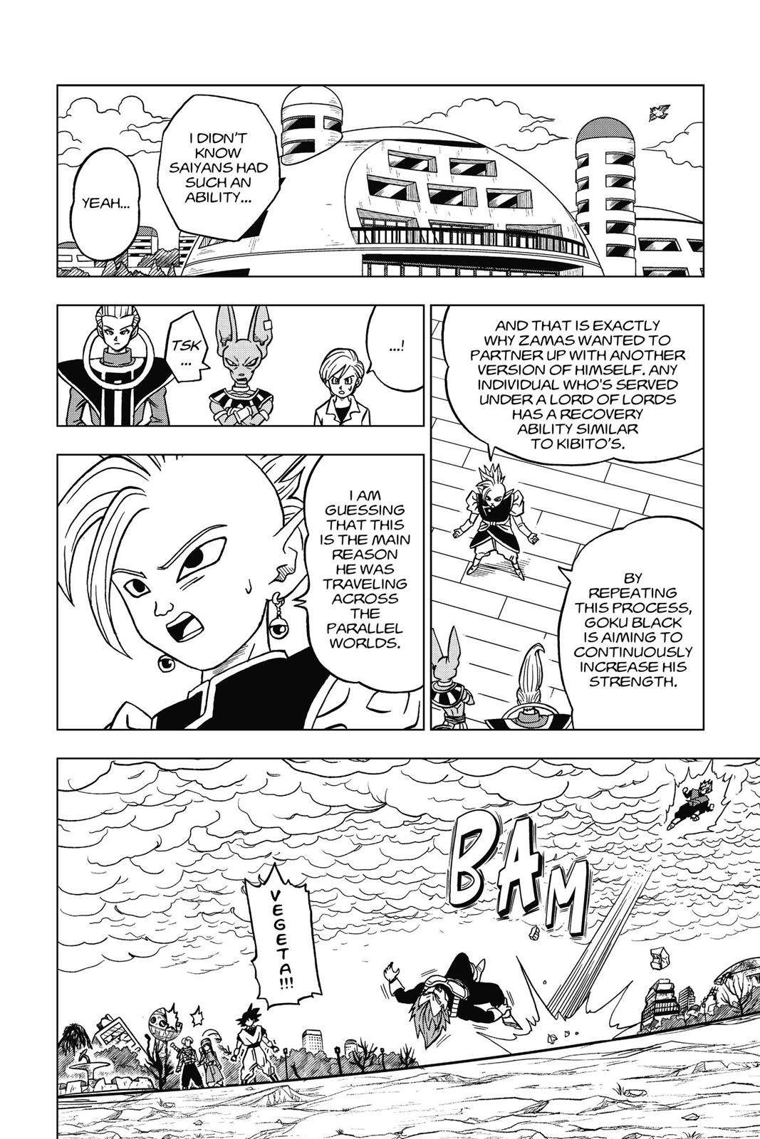 Dragon Ball Super Chapter 20 Page 12