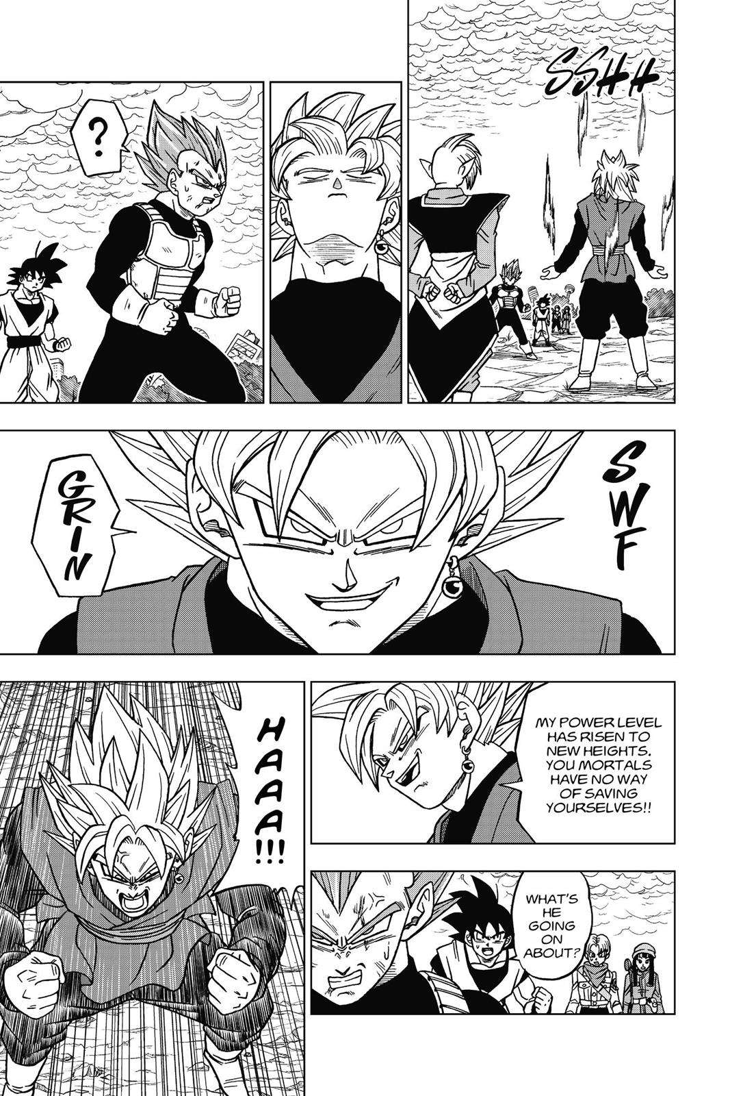 Dragon Ball Super Chapter 20 Page 17