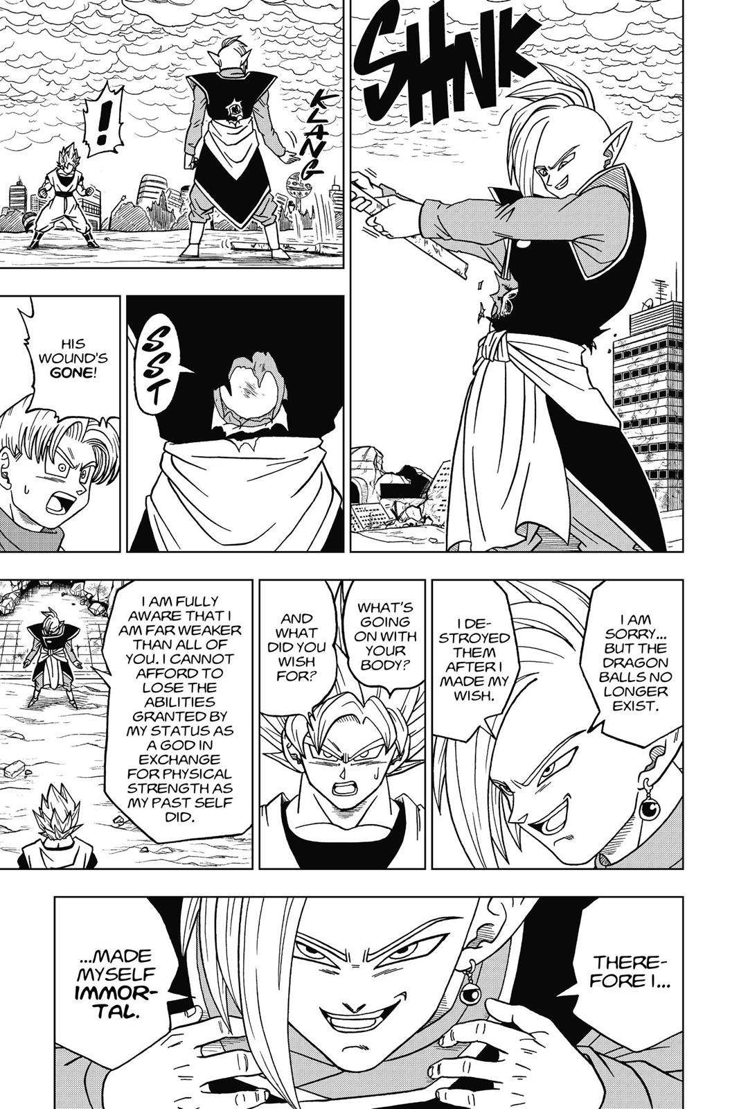 Dragon Ball Super Chapter 20 Page 25